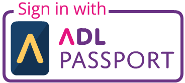 Sign in using your ADL Passport account